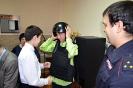 Воспитанники Озерского детского дома поздравили полицейских - март 2018